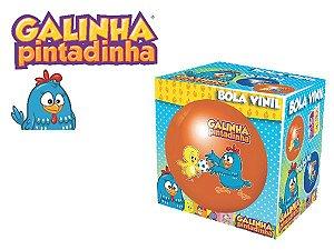 Bola Vinil Galinha Pintadinha Na Caixa 2003 - Lider