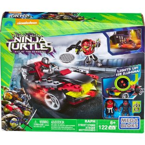 Mega Bloks Tartarugas Ninja Filme Com Veículo Mattel