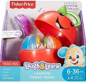 Maçã Feliz Aprender e Brincar Fisher Price - Mattel