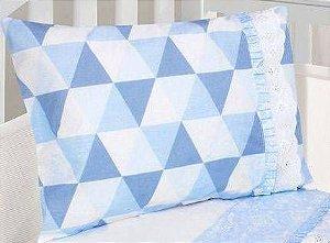 Fronha Muito Mimo Azul Minasrey- Infantil