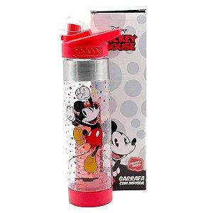 Garrafa Zona Criativa com Infusor - Mickey