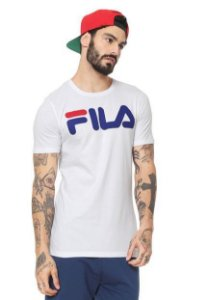 Camiseta Fila Letter Masculina