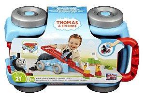 Thomas e Amigos Pista Vagão Mega Bloks - Mattel