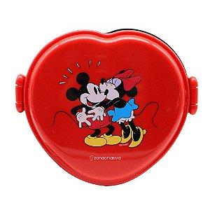 Lancheira Zona Criativa  Térmica  Box - Coração Mickey e Minnie