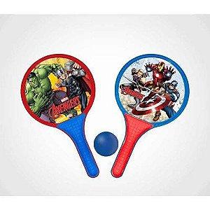 Jogo Frescobol Avengers 2405 - Lider