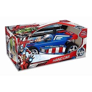 Carro Hand Car Avengers Capitão América 2311 - Lider