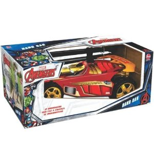 Carro Hand Car Avengers Homem de Ferro 2937 - Lider