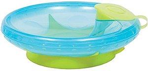 Prato Térmico Com Ventosa Azul Buba - Infantil