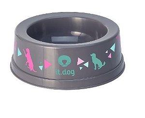 Comedouro de Plástico para Cão 500ml 4016 - Plasvale