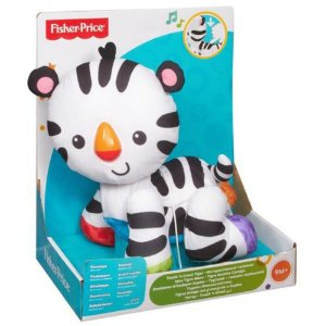 Fisher Price Tigre Engatinha Comigo - Mattel