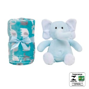 Gift Elefantinho Azul Buba - Infantil