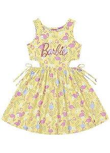 Vestido Barbie Fakini - Menina