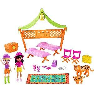 Conjunto Polly Pocket Aventura Na Selva - Mattel