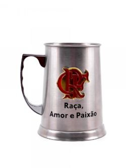 Caneca Mileno Inox Flamengo