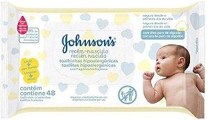 Lenços Umedecidos Recém-Nascido 48 Unidades Johnson's