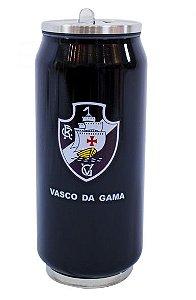 Copo De Inox Com Canudo 350ml - Vasco
