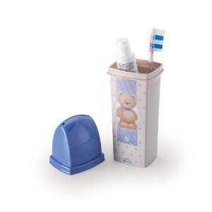 Porta Escova Dental Case Urso Plasutil