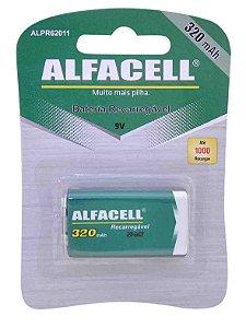 Bateria Alfacell Recarregável NI-MH 9V 9V 320 MAH - Imporiente