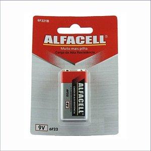 Bateria Alfacell Comum 9V - Imporiente
