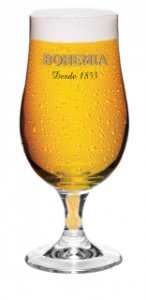 Conjunto de 4 Taça para Cerveja Bohemia Pilsen 380ml - Glob Import