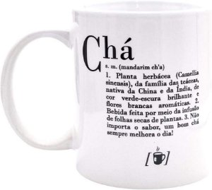 Caneca - Dicionario De Cha Uatt