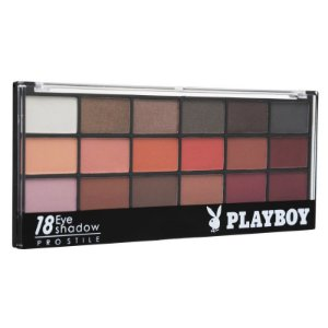 Paleta de Sombras 18 Cores Eye Shadow - Playboy