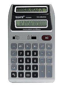 Calculadora Comercial de Mesa Display Duplo - Imporiente