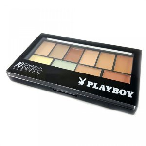 Paleta de Contorno e Corretivo 10 Cores - Playboy