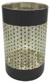 Porta Vela Luxury Em Vidro - Glob Import