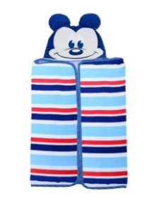 Toalha Bordada Disney Azul Minasrey-Infantil