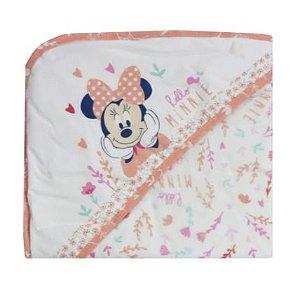 Toalha De Banho Rosa Disney Minasrey- Infantil