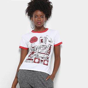 Camiseta Coca Cola Estampada Feminina