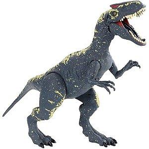 Boneco Jurassic World Dinossauro Com Som Allosaurus Mattel