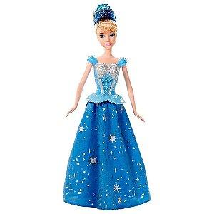 Boneca Cinderela Baile Encantado Disney Mattel