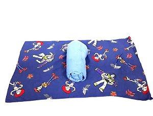 Jogo Simples Disney Toy Story Woody e Buzz Azul Portallar