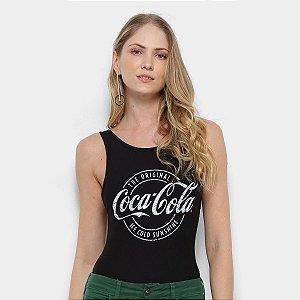 Body Coca Cola Feminino Estampado
