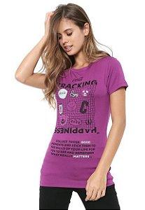 Camiseta Coca-Cola Jeans Estampada Feminina