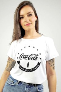 Camiseta Coca Cola Estampada