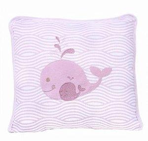 Travesseiro Filhotes Rosa Minasrey- Infantil