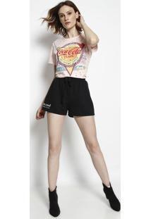 Camiseta Coca Cola - Feminina