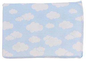 Travesseiro Espuma Alvinha Azul Minasrey- Infantil