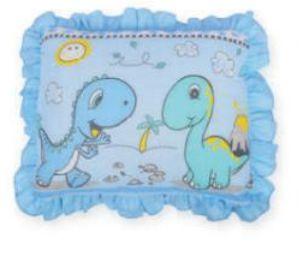 Travesseiro Com Babado Azul Dengo Minasrey- Infantil