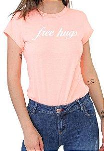 Camiseta Coca-Cola Jeans Free Hughs Feminina