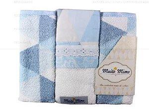 Babete 3 unidades Muito Mimo - Minasrey
