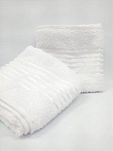 Toalha de banho branca Lyra - Camesa