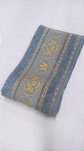 Toalha Atlantico Rosto Azul Metal
