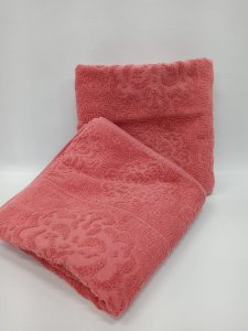 Toalha de banho rose Agra - Camesa