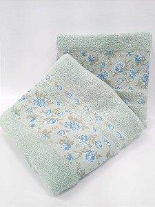 Toalha de banho Lilly azul - Camesa
