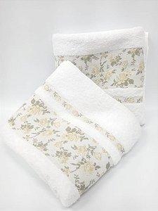 toalha de banho Lilly branco - Camesa