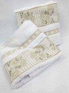 Toalha de banho Claris branco - Camesa